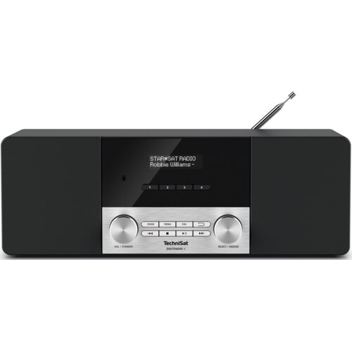 Radio TECHNISAT Digitradio 4 Czarno-srebrny
