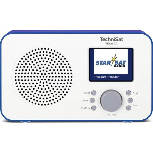 Radio TECHNISAT VIOLA 2 C Biało-niebieski