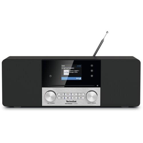 Radio TECHNISAT DigitRadio 3 Voice Czarno-srebrny