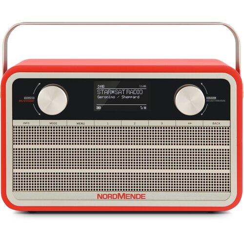 Radio NORDMENDE Transita 120 IR Czerwony