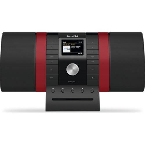 Radio TECHNISAT Multyradio 4.0 Czarno-czerwony