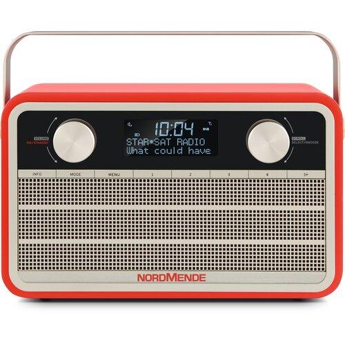 Radio NORDMENDE Transita 120 Czerwony