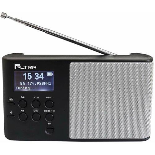 Radio ELTRA Ula 101DAB+ Srebrny