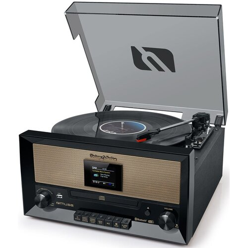 Gramofon MUSE MT-110 DAB Czarny