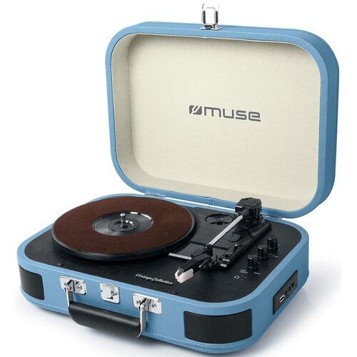 Gramofon MUSE MT-201 BTB Niebieski
