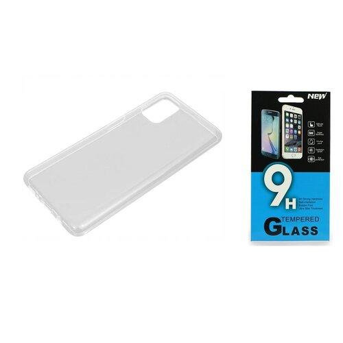 Etui BELINE do Samsung Galaxy M51 Przezroczysty + Szkło hartowane