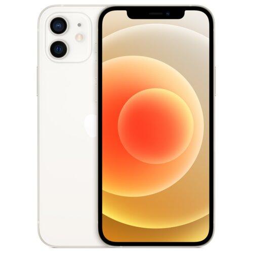 """Smartfon APPLE iPhone 12 mini 128GB 5G 5.4"""" Biały MGE43PM/A + Zabezpieczenie ekranu"""