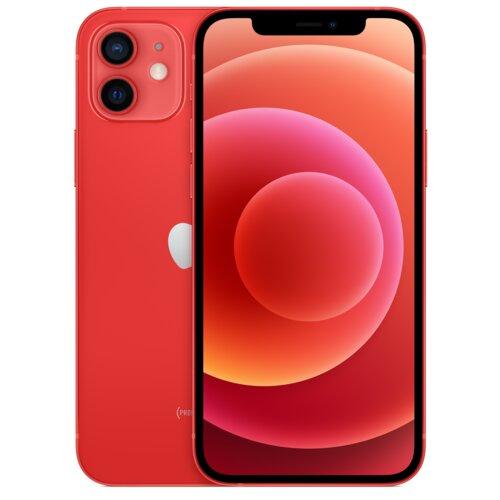 """Smartfon APPLE iPhone 12 64GB 5G 6.1"""" Czerwony MGJ73PM/A + Zabezpieczenie ekranu"""
