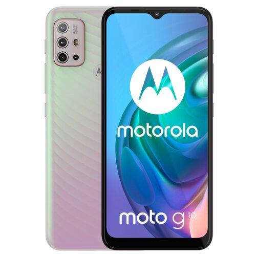 "Smartfon MOTOROLA G10 4/64GB 6.5"" Perłowy PAMN0036PL"
