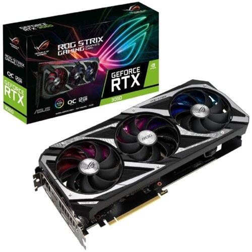 Karta graficzna ASUS Rog Strix GeForce RTX 3060 Gaming OC 12GB