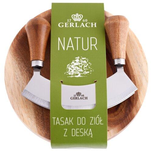 Tasak GERLACH Natur 320R + Deska