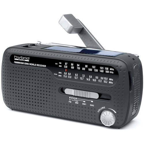 Radio MUSE MH-07 DS Czarny