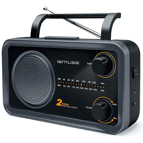 Radio MUSE M-06 DS Czarno-szary