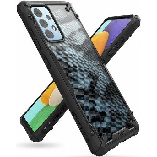 Etui RINGKE Fusion X do Samsung Galaxy A52/A52s 4G 5G Moro Czarny