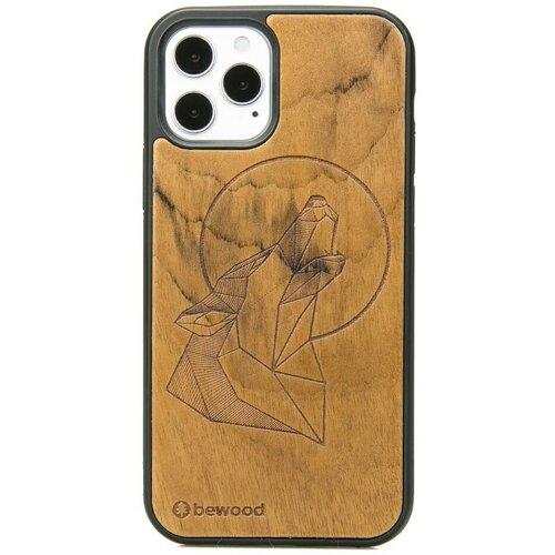Etui BEWOOD Drewniane Wilk Imbuia do Apple iPhone 12/12 Pro