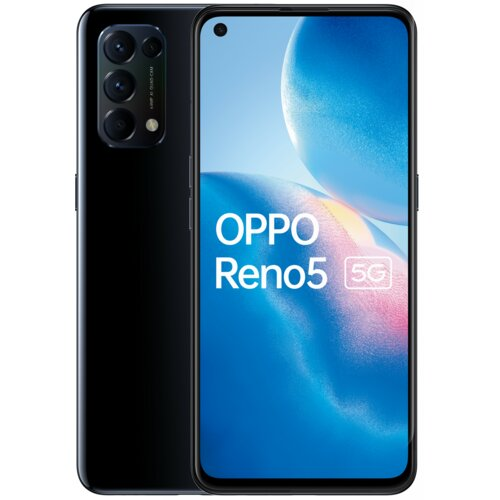 "Smartfon OPPO Reno 5 8/128GB 5G 6.43"" 90Hz Czarny CPH2145"