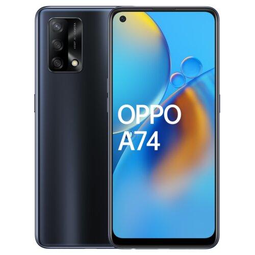 """Smartfon OPPO A74 4/128GB 6.43"""" Czarny CPH2219"""