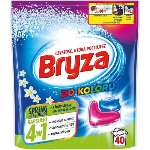 Kapsułki do prania BRYZA 4 w 1 Spring Freshness 40 szt.