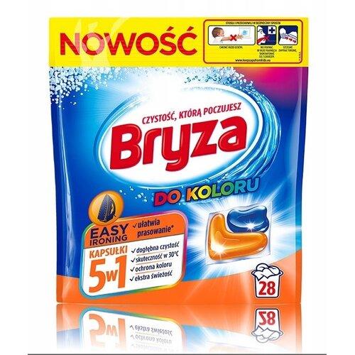 Kapsułki do prania BRYZA 5 w 1 Easy Ironing 28 szt.