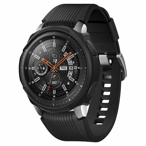 Etui SPIGEN Liquid Air do Samsung Galaxy Watch 46mm Czarny
