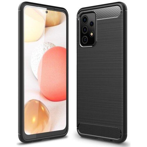 Etui TECH-PROTECT TPUCarbon do Samsung Galaxy A52/A52s 5G Czarny