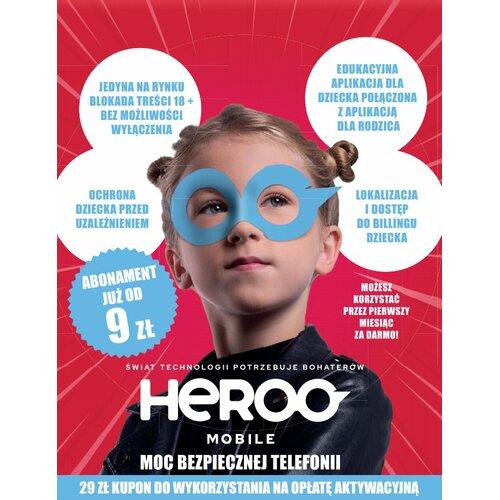 Kupon HEROO Mobile Dziewczynka