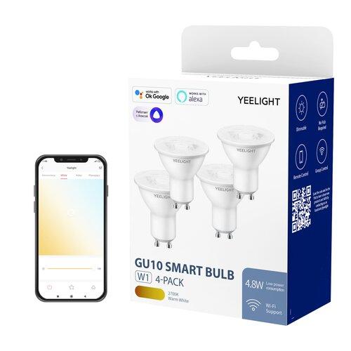 Inteligentna żarówka LED YEELIGHT YLDP004 4.8W GU10 Wi-Fi (4 szt.)