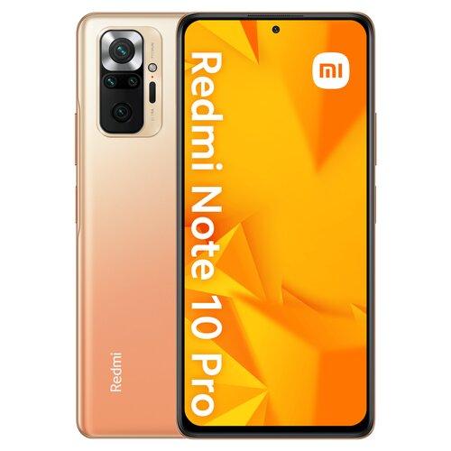 """Smartfon XIAOMI Redmi Note 10 Pro 6/64GB 6.67"""" 120Hz Brązowy 31747"""