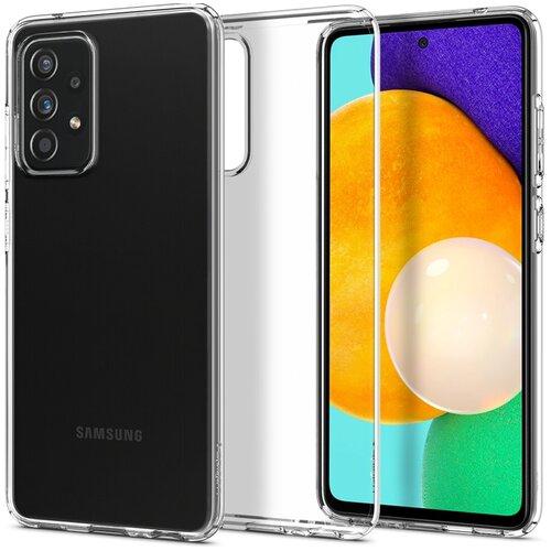 Etui SPIGEN Liquid Crystal do Samsung Galaxy A52s 5G LTE Przezroczysty