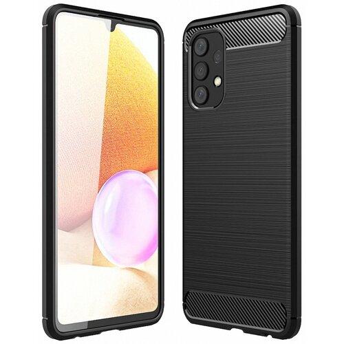 Etui TECH-PROTECT TPUCarbon do Samsung Galaxy A32 LTE Czarny