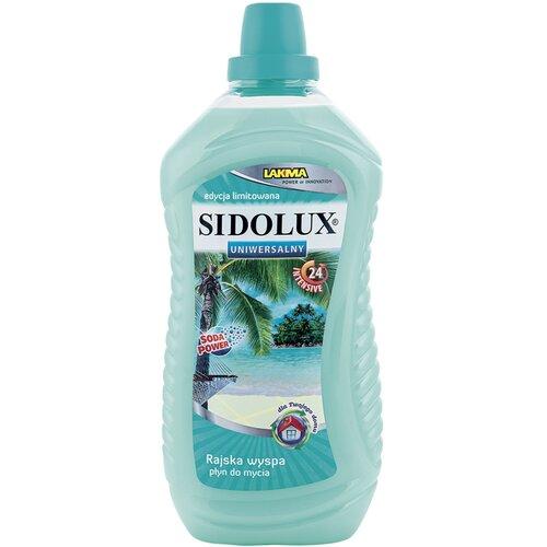 Płyn do mycia podłóg SIDOLUX Rajska wyspa 1000 ml