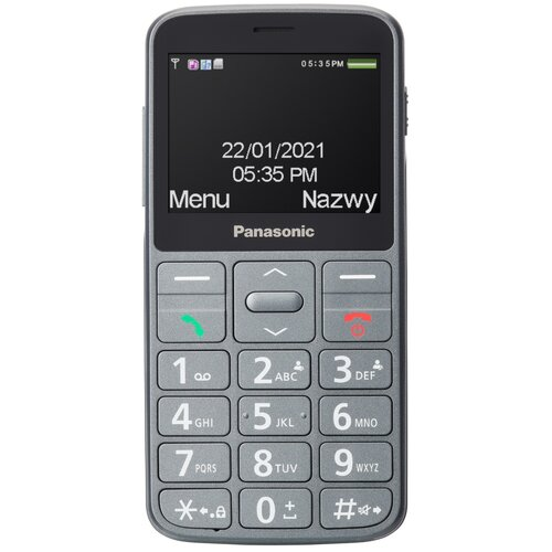 Telefon PANASONIC KX-TU160 Szary