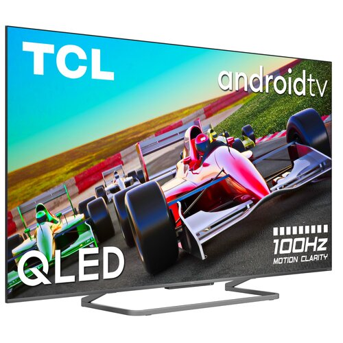 """Telewizor TCL 55C728 55"""" QLED 4K 100Hz Android TV Dolby Atmos Dolby Vision HDMI 2.1"""