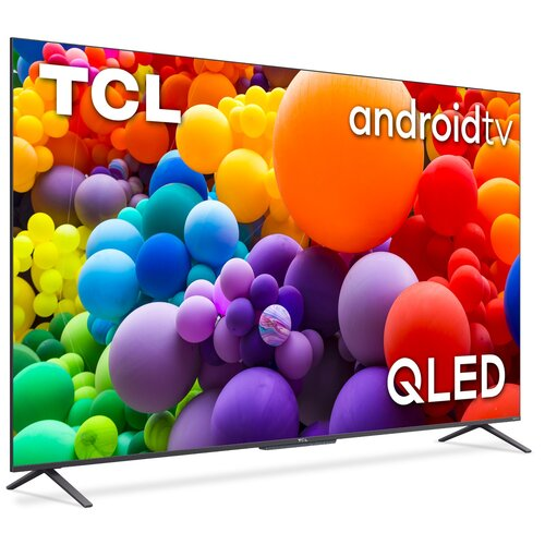 """Telewizor TCL 65C725 65"""" QLED 4K Android TV Dolby Atmos HDMI 2.1"""