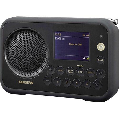 Radio SANGEAN DPR-76 Czarny