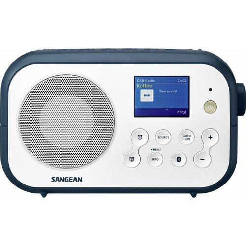 Radio SANGEAN DPR-42BT Biało-niebieski