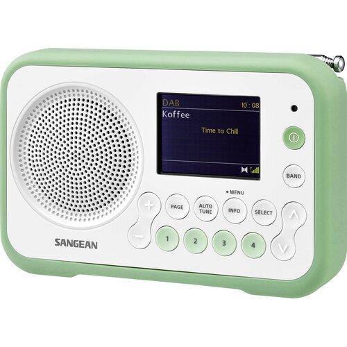 Radio SANGEAN DPR-76 Biało-zielony