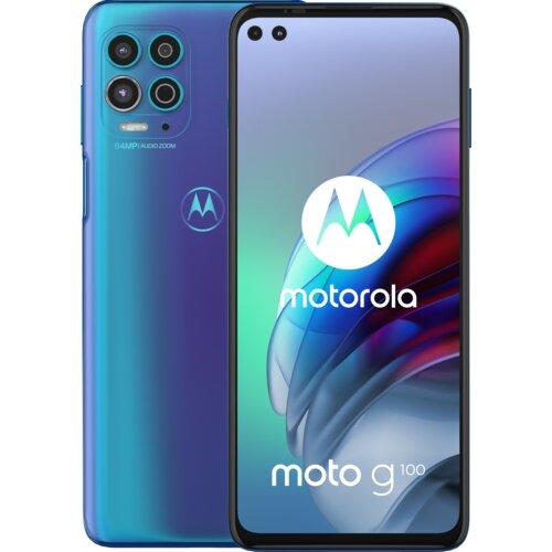 """Smartfon MOTOROLA G100 8/128GB 5G 6.7"""" 90Hz Niebieski PAM80004PL"""