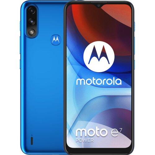 "Smartfon MOTOROLA E7 Power 4/64GB 6.5"" Niebieski PAMH0002PL"
