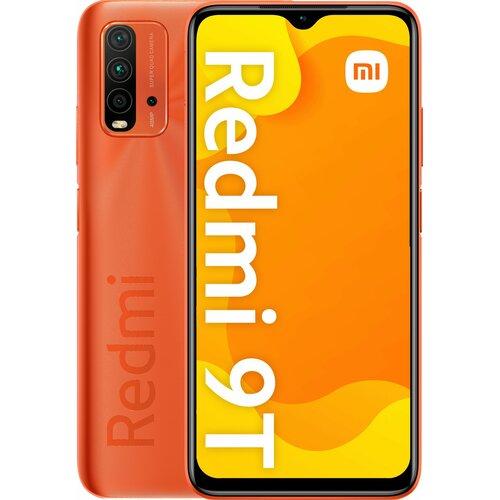 """Smartfon XIAOMI Redmi 9T 4/128GB 6.53"""" Pomarańczowy 31170"""