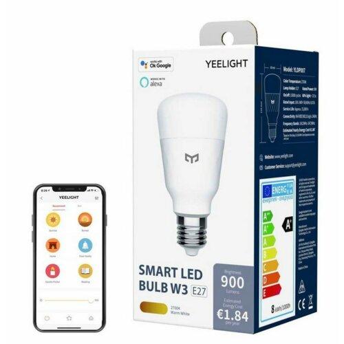 Inteligentna żarówka LED YEELIGHT YLDP007 8W E27 WiFi