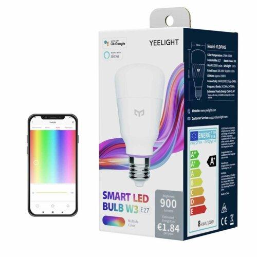 Inteligentna żarówka LED YEELIGHT YLDP005 8W E27 WiFi