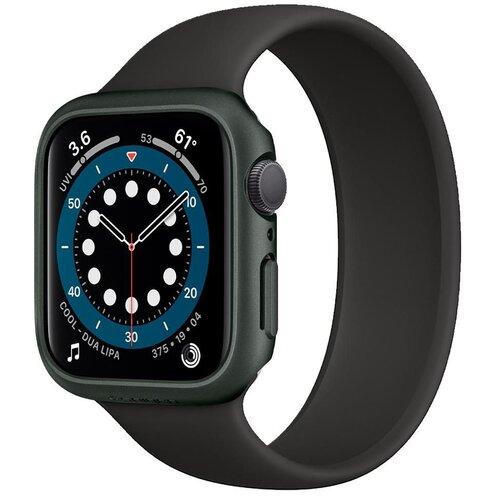 Etui SPIGEN Thin Fit do Apple Watch 4/5/6/SE (44 mm) Oliwkowy