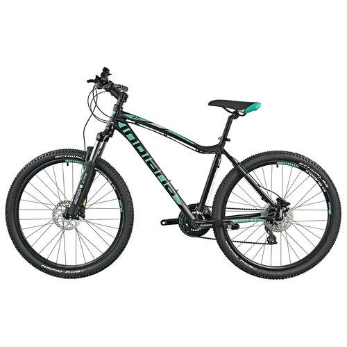 Rower górski MTB INDIANA X-Pulser 3.7 D21 27.5 cala damski Czarno-zielony