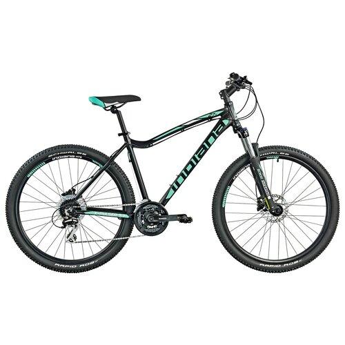 Rower górski MTB INDIANA X-Pulser 3.7 D15 27.5 cala damski Czarno-zielony