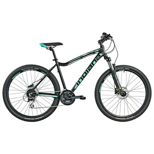 Rower górski MTB INDIANA X-Pulser 3.7 D17 27.5 cala damski Czarno-zielony