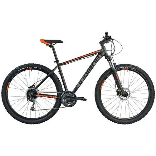 Rower górski MTB INDIANA X-Pulser 3.9 M21 29 cali męski Czarno-pomarańczowy