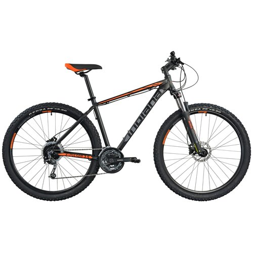 Rower górski MTB INDIANA X-Pulser 3.9 M19 29 cali męski Czarno-pomarańczowy