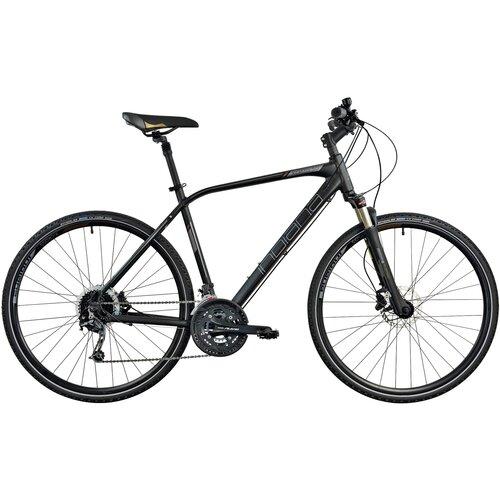 Rower crossowy INDIANA X-Cross 5.0 M23 męski Czarno-brązowy