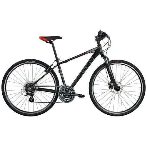 Rower crossowy INDIANA X-Cross 2.0 M17 męski Czarny